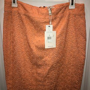 NWT! Joie Lace Textured Pencil Skirt